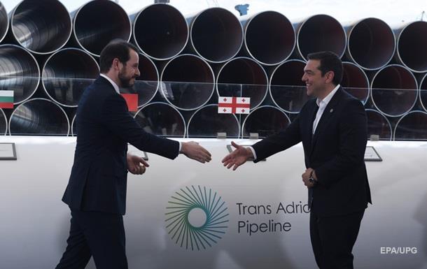 ЄС почав будувати Трансадріатичний газопровід