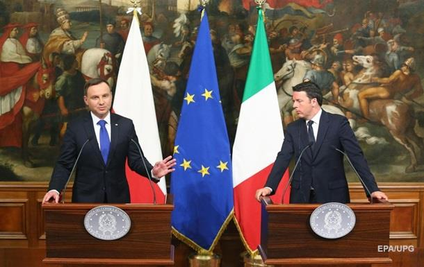 Польща проти  холодної війни  НАТО і Росії
