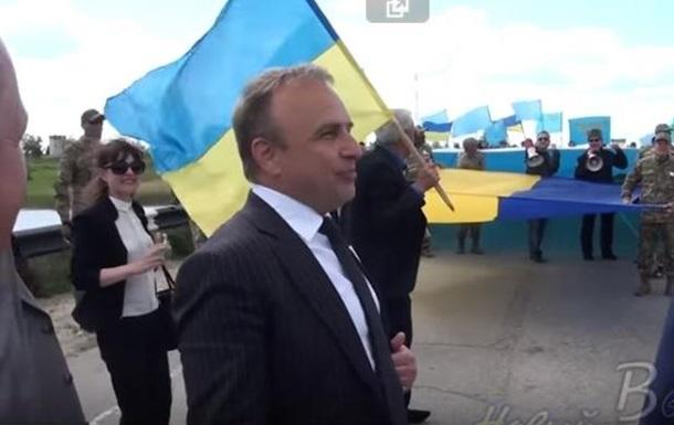 Херсонський губернатор заспівав пісню про Путіна