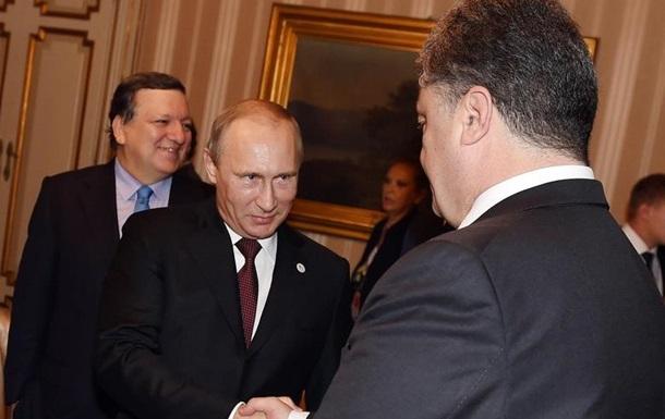 Порошенко проведет ночью разговор с Путиным