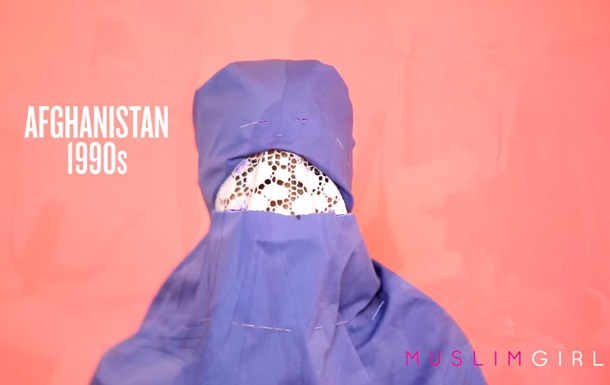 Еволюцію хиджабу показали в таймлапс-відео