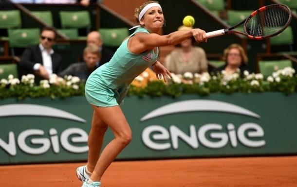 Ролан Гаррос (WTA). У жіночій частині турніру проходять матчі другого кола