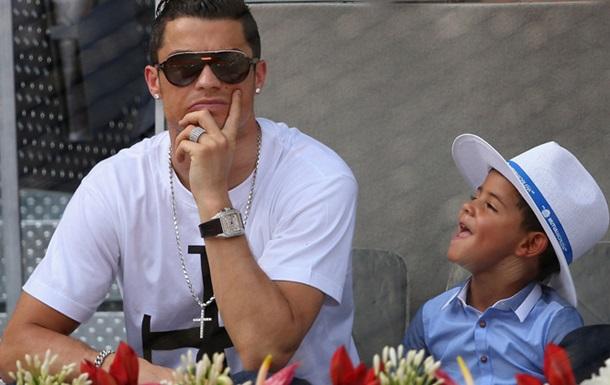 Роналду: Мой сын дразнит меня, сравнивая с Бэйлом