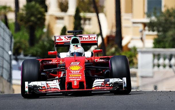 Формула-1. Гран-при Монако. Феттель — лучший в заключительной тренировке