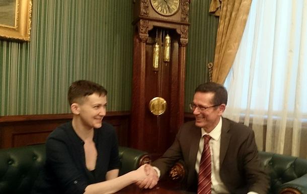 Савченко встретилась с помощником генсека ООН