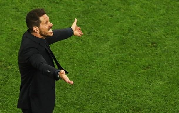 Сімеоне: Реал був кращим, тому переміг