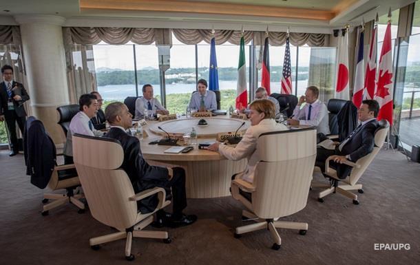 Порошенко: G7 готова посилити санкції проти Росії