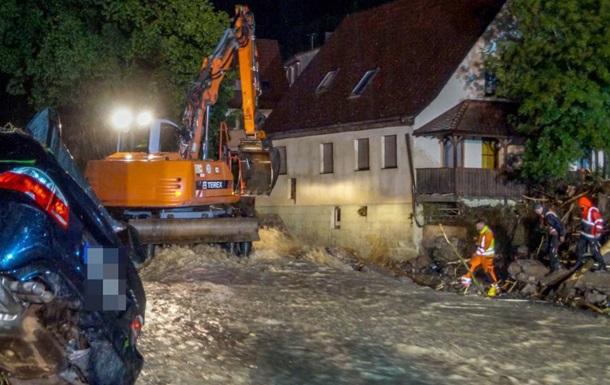 Через повінь в Німеччині загинули четверо людей