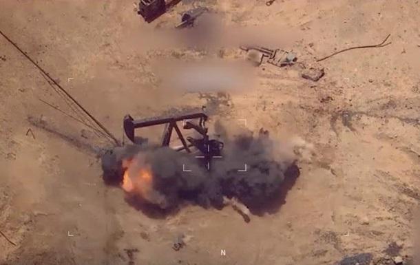 З явилися відео авіаударів коаліції по базах ІДІЛ