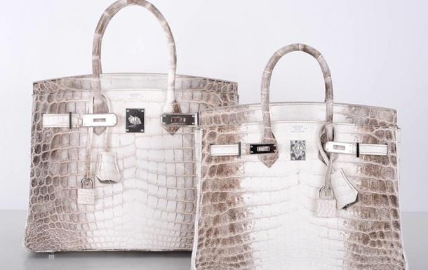 На аукціоні Christie`s продали найдорожчу у світі сумку