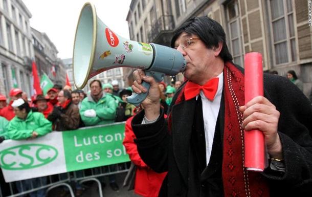 В Бельгии бастуют работники госсектора
