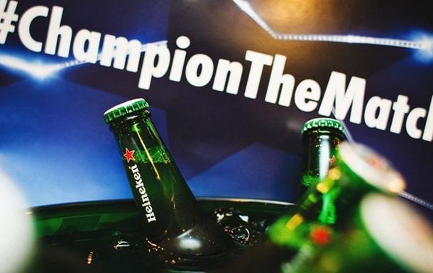 Heineken® устроил зрелищный просмотр финала Лиги чемпионов УЕФА
