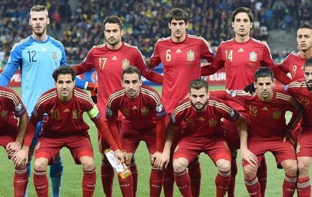 Окончательная заявка сборной Испании на Евро