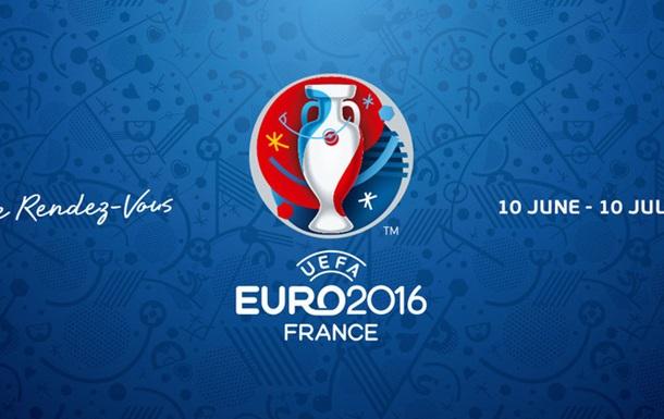 Остаточні заявки всіх команд учасниць Євро-2016
