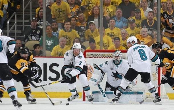 НХЛ. Піттсбург в овертаймі дотискає Сан-Хосе