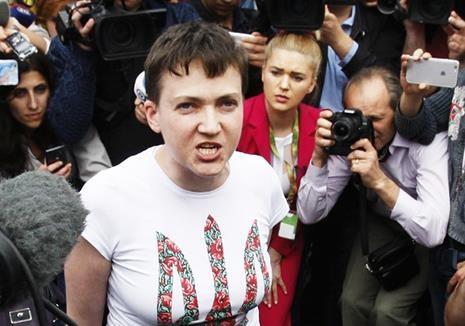 По поводу возвращения Савченко
