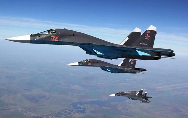 У Криму змагаються російські бойові літаки