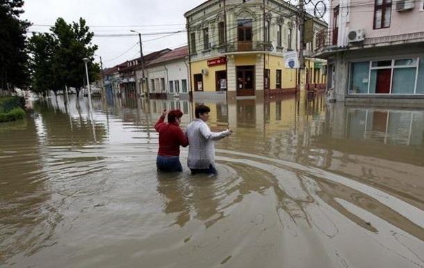 Жертвами наводнений в Румынии стали два человека
