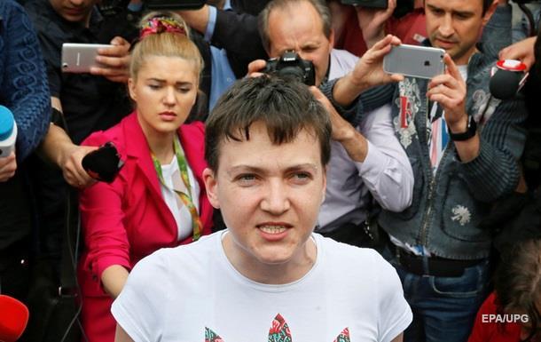 Савченко пропонували помістити в українську в язницю - Порошенко