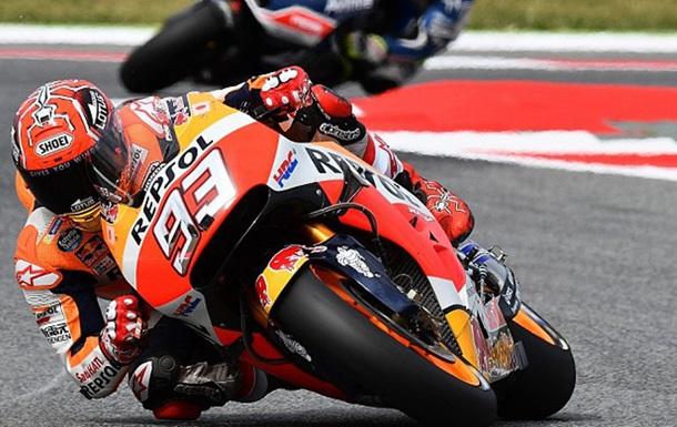 Moto GP. Маркес берет поул в Барселоне