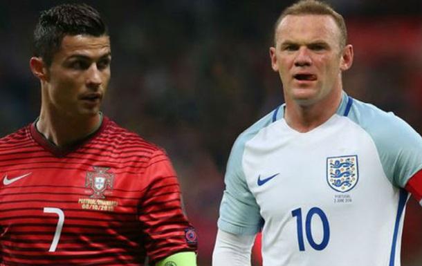Роналду:  Всегда знал, что Руни будет звездой сборной Англии