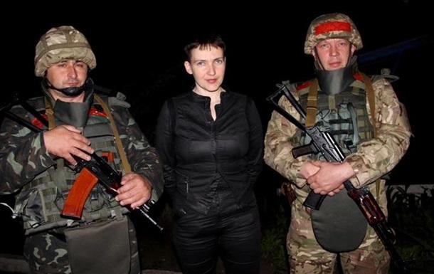 Савченко в АТО