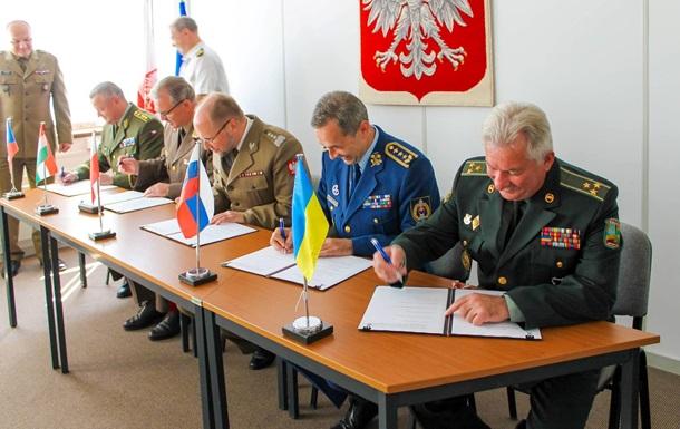 Украина присоединилась к созданию боевой группы ЕС