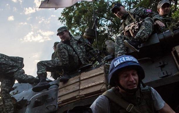За час АТО загинули 14 журналістів - Парубій
