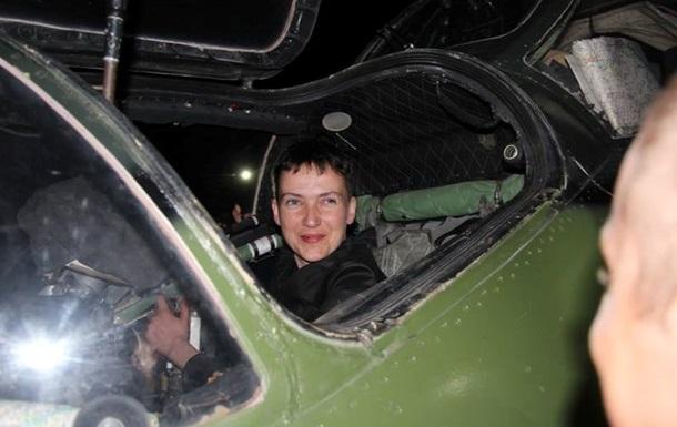 Савченко виступає за прямі переговори з ЛДНР