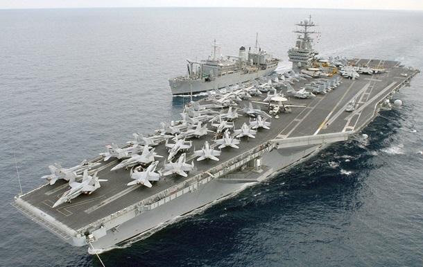США разместят в Средиземном море два авианосца