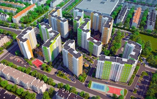 В Украине значительно выросли объемы строительства