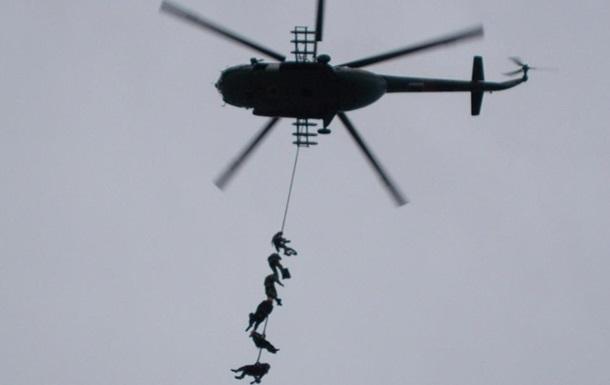 Десантники показали фото з навчань у Миколаєві