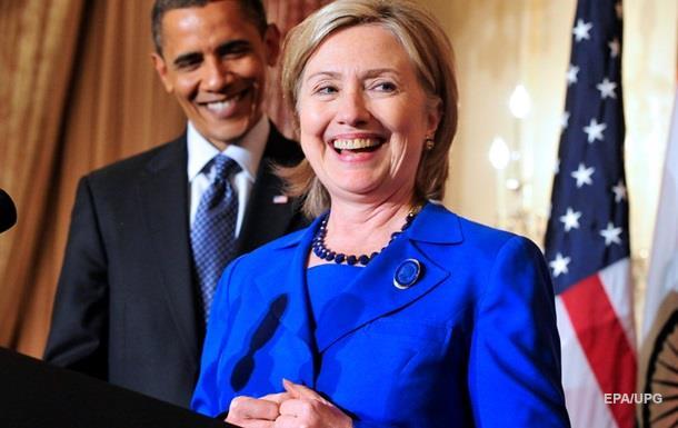 Обама підтримав Клінтон у президентських перегонах