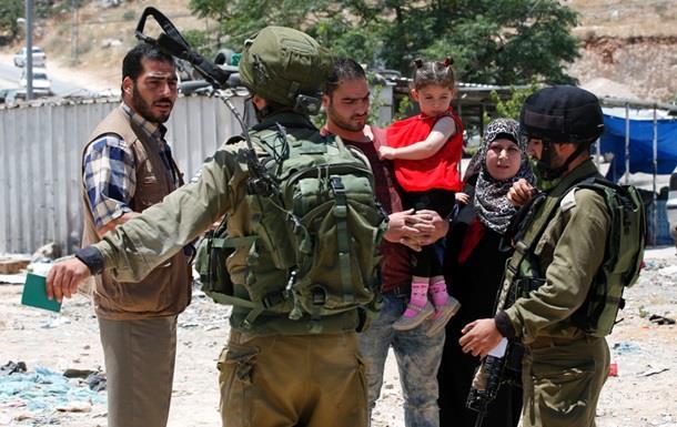 Израиль блокирует сектор Газа и Западный берег реки Иордан