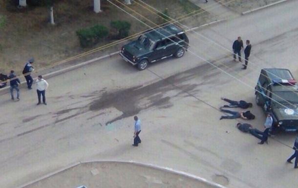 АТО в Актобе: появилось видео штурма