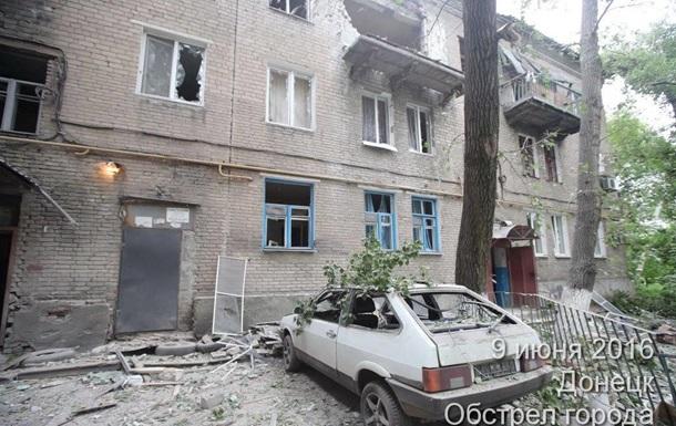 Военные обвиняют сепаратистов в обстреле Донецка