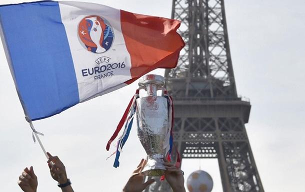 УЕФА ожидает заработать € 2 млрд на Евро-2016