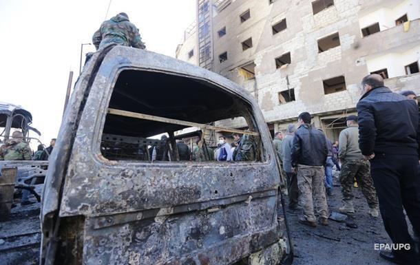 В пригороде Дамаска двойной взрыв: есть жертвы