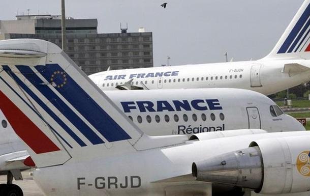 Пилоты Air France начали забастовку