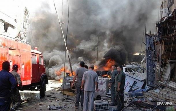 Кількість жертв подвійного вибуху в Дамаску зросла до 16 осіб