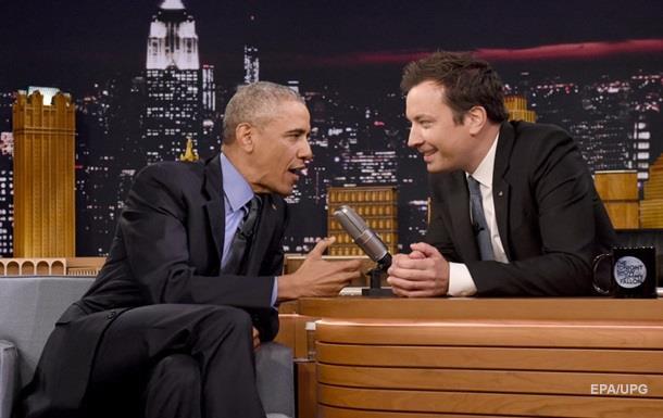 Обама, який співає, набирає популярності в Інтернеті