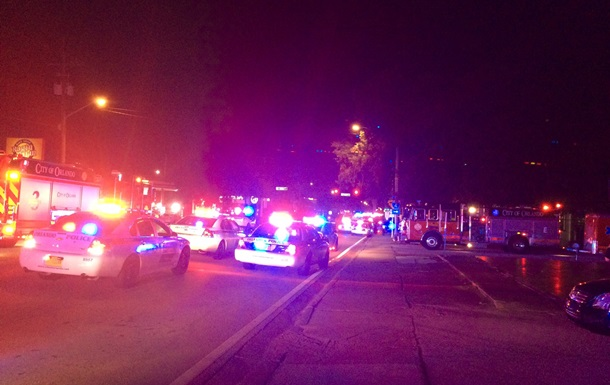 В гей-клубе в Орландо произошла стрельба