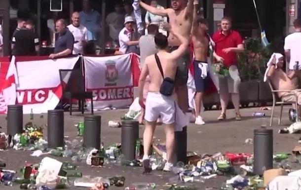 Массовые драки англичан и русских на чемпионате Европы