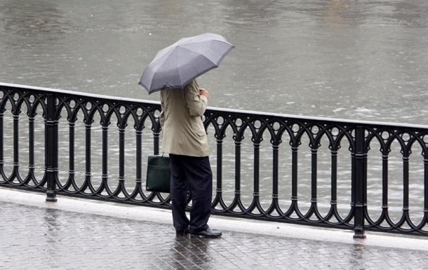 В ближайшие дни в Украине сохранится дождливая погода