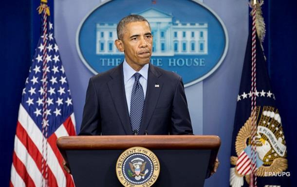 Обама: Потрібно бити по терористах з усією силою