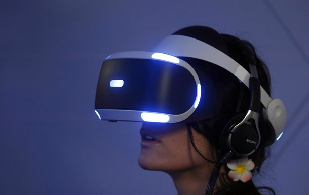 Sony анонсировала VR-шлем для PlayStation