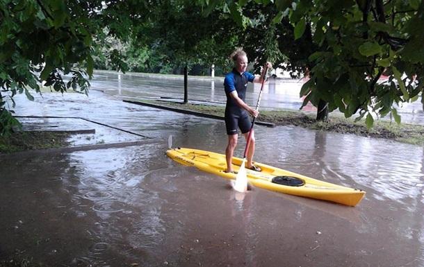 Потоп в Измаиле: вода поднялась выше метра