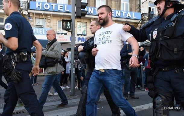 Во Франции задержали двух украинских болельщиков