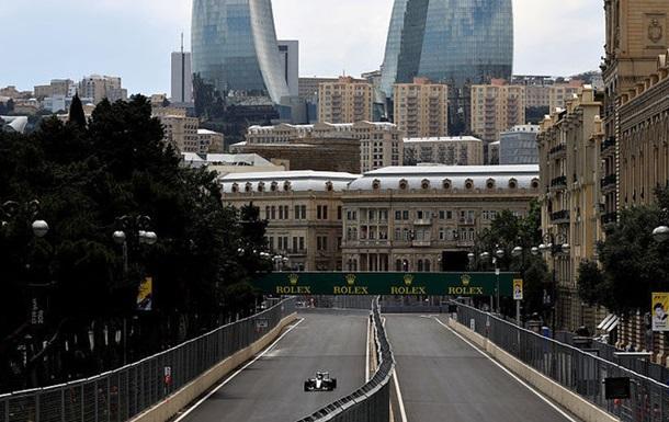 Формула-1. Гран-при Европы. Хэмилтон — быстрейший в первой тренировке