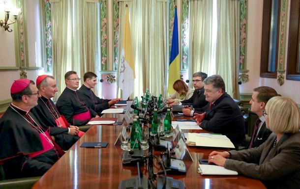 Київ залучить Ватикан до звільнення заручників